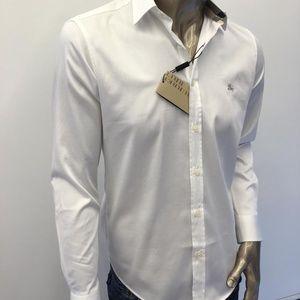 Burberry Brit XXL White Men Nova Check Shirt
